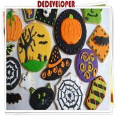Funny Halloween Cookies Idea icon
