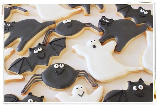 Funny Halloween Cookies Idea apk screenshot