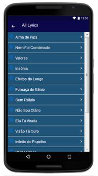 Tribo da Periferia - Song And Lyrics apk screenshot
