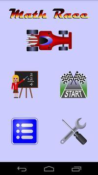 Math Race poster