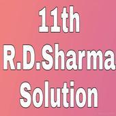 R.D.Sharma 11th Maths Solution icon