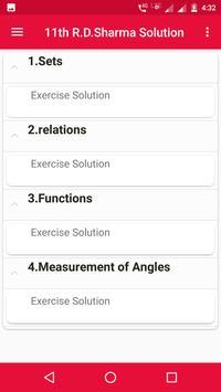 R.D.Sharma 11th Maths Solution screenshot 2