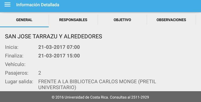 Control de Giras UCR screenshot 5