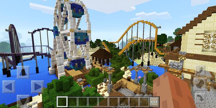 Attraction Park Minecraft map screenshot 2