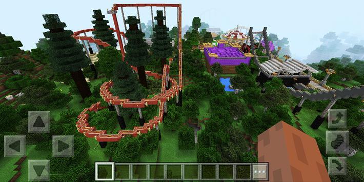 Attraction Park Minecraft map screenshot 7