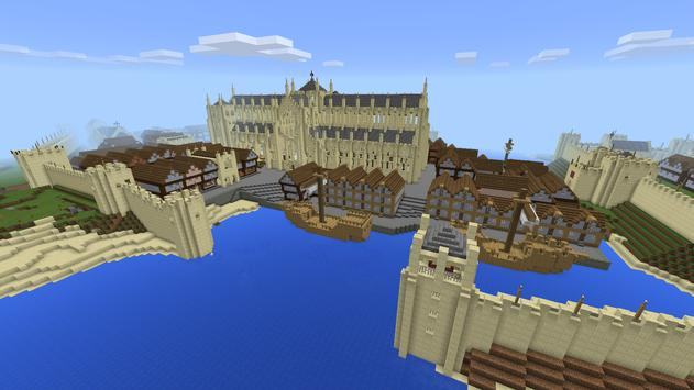 Medieval Town map for MCPE screenshot 23