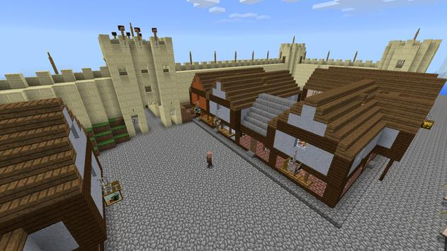 Medieval Town map for MCPE screenshot 22