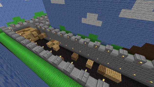 High Wall MCPE map apk screenshot