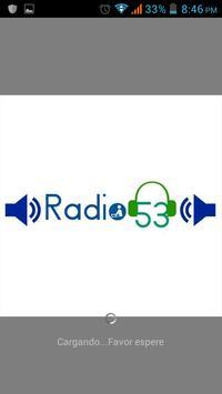 Radio 53 CR poster