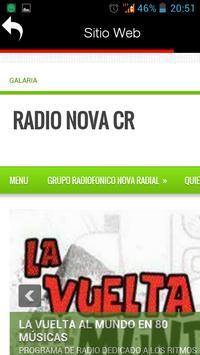 Radio Nova CR apk screenshot