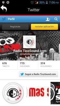 Radio TicoSound apk screenshot