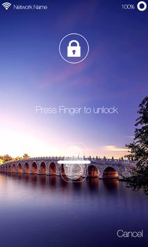 Fingerprint Lock Screen Prank apk screenshot