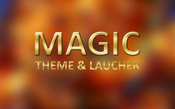 Magic Theme and Launcher apk screenshot