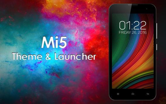 Theme for Xiaomi Mi5 screenshot 1