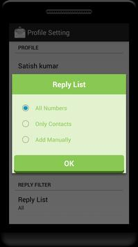 Auto Reply (Sms and Call) » Download APK » 1 0 3
