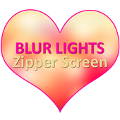 Blur Lights Zipper Screen icon