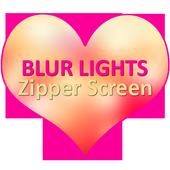 Blur Lights Zipper Screen icon