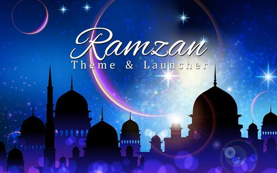 Ramadan Theme and Launcher poster