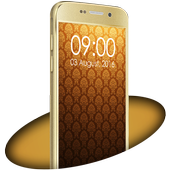 Theme for Galaxy S7 Gold icon