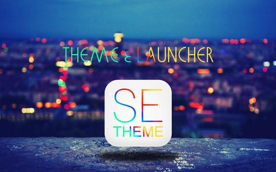 SE Theme and Launcher apk screenshot