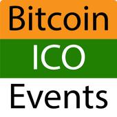All Bitcoin events. Blockchain. ICO icon