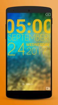 Typophone Lock Screen poster