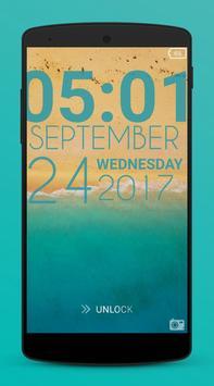 Typophone Lock Screen screenshot 1