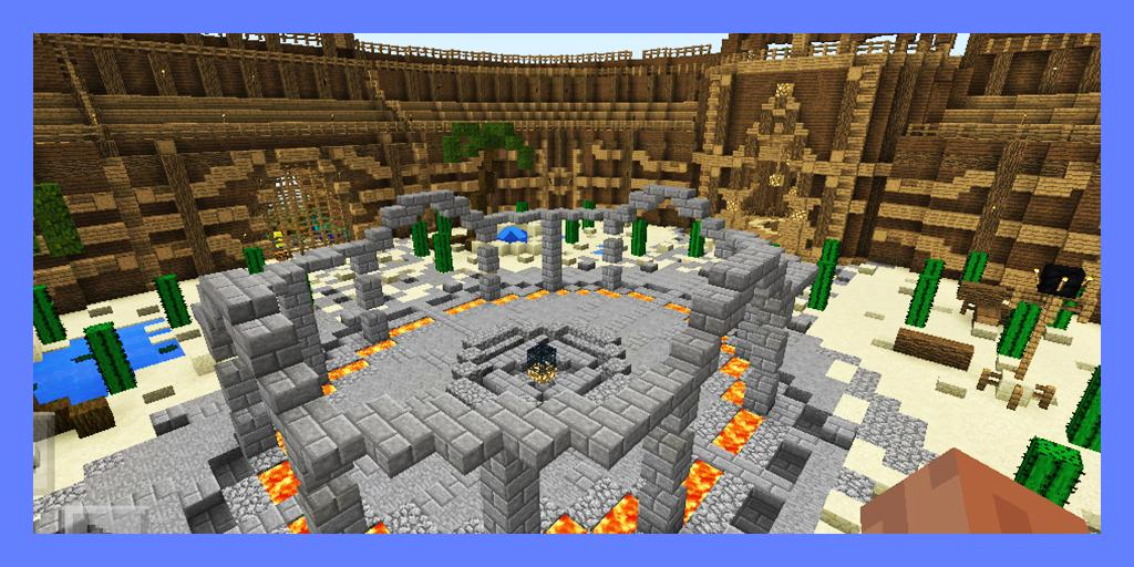 Best PvP Battle Arena  Map for MCPE for Android - APK Download