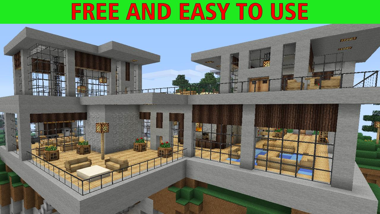 Modern House For Minecraft For Android Apk Download