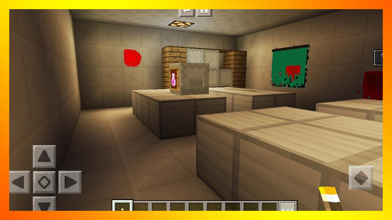 Best Horror Hospital Survival Map Minecraft PE for Android