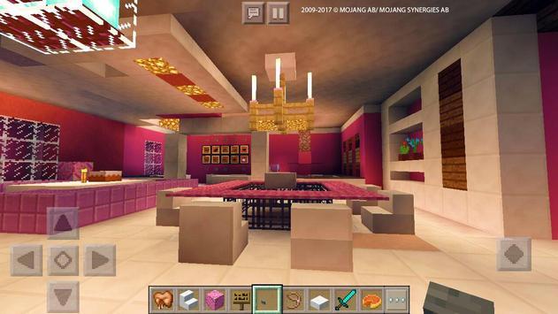 Pink Dream House Princess map for MCPE Mine screenshot 22