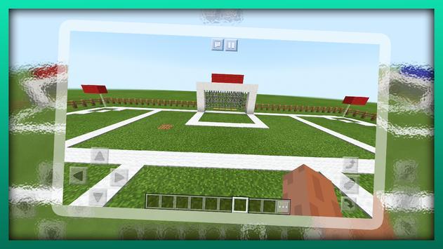 New Football Mini-Game. Map for MCPE screenshot 14