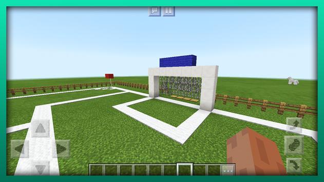 New Football Mini-Game. Map for MCPE screenshot 1