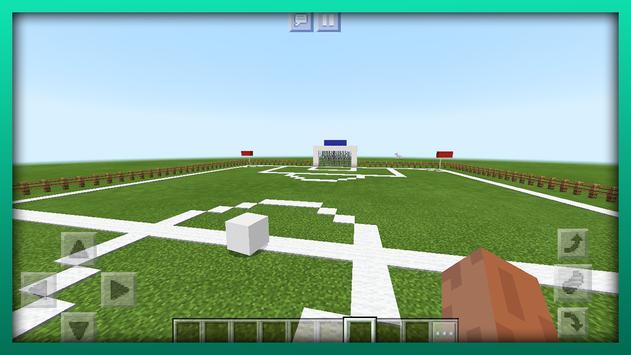 New Football Mini-Game. Map for MCPE screenshot 5