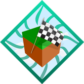 Funny Rainbow Race. Map for MCPE icon