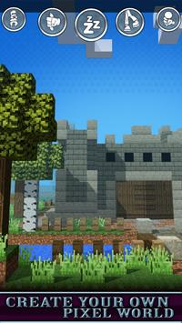Craft 3D with Exploration mods (Medieval games) screenshot 2