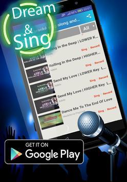 Karaoke Star Sing along Karaoke singer poster