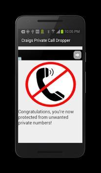 Craig's Private Call Dropper! poster