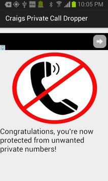 Craig's Private Call Dropper! apk screenshot
