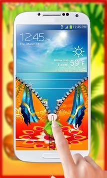 Gudi Padwa Theme Zipper Lock screenshot 3