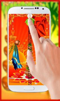 Gudi Padwa Theme Zipper Lock poster