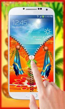 Gudi Padwa Theme Zipper Lock screenshot 2