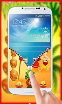 Gudi Padwa Theme Zipper Lock screenshot 7