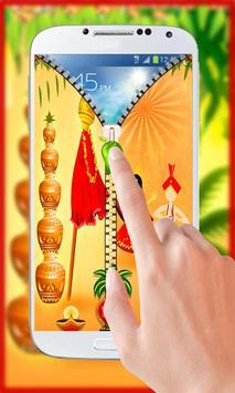 Gudi Padwa Theme Zipper Lock screenshot 5