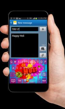 Holi Theme Keyboard apk screenshot
