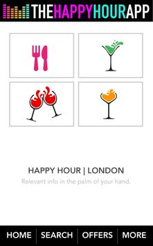 Happy Hour London. The Guide poster
