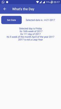 Date and Time calculator apk screenshot