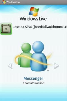 Windows Live Messenger VIVO screenshot 1