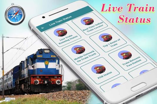 Live Train & PNR Status: Where is My Train? apk screenshot