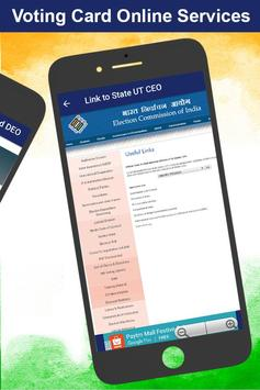 Voter ID Card Services : Voter List Online 2017 apk screenshot